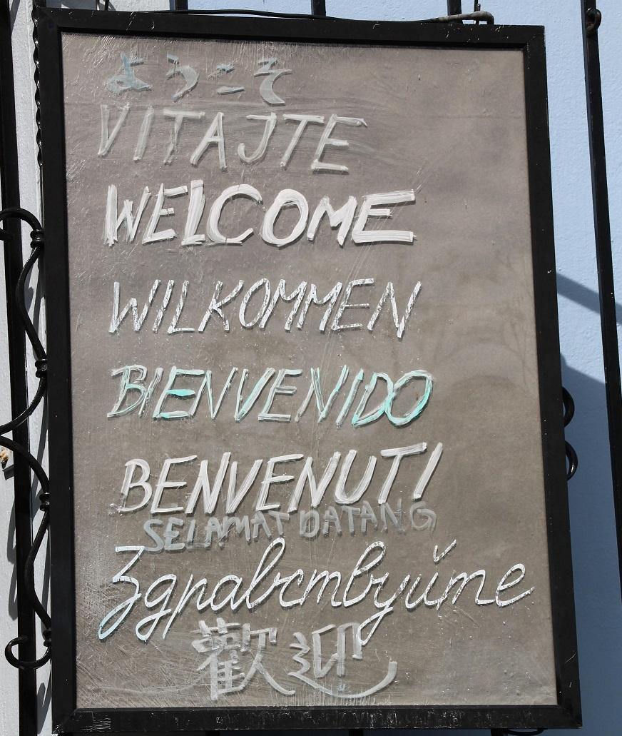 Eine Affinität zu Sprachen sollte man als Europasekretärin haben.