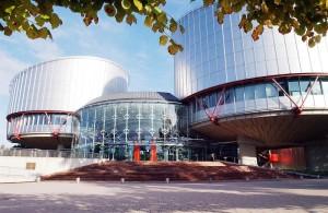Europarat Gebäude Außenansicht