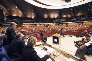 Europarat Innen Ansicht