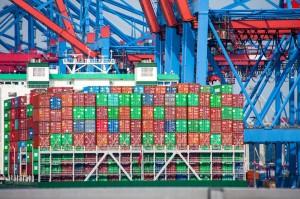 Maastricht Vertrag Handel im Hafen