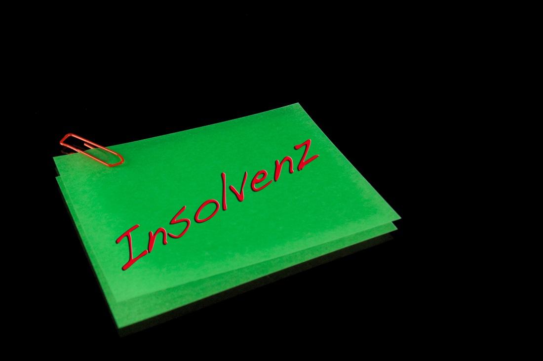 Schuldnerberatung Notizzettel Insolvenz