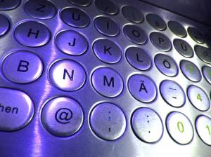 Industrie PC Maschinenrichtlinie Metall Tastatur