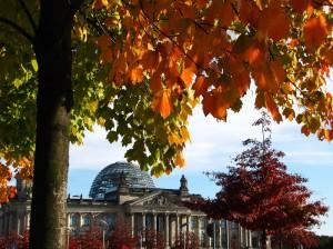 Europäische Sprachen Bundestag Herbst
