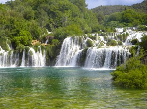 Europa Drehorte Wasserfälle