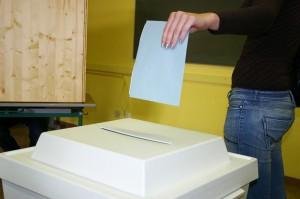 Europawahl 2014 Stimmabgabe