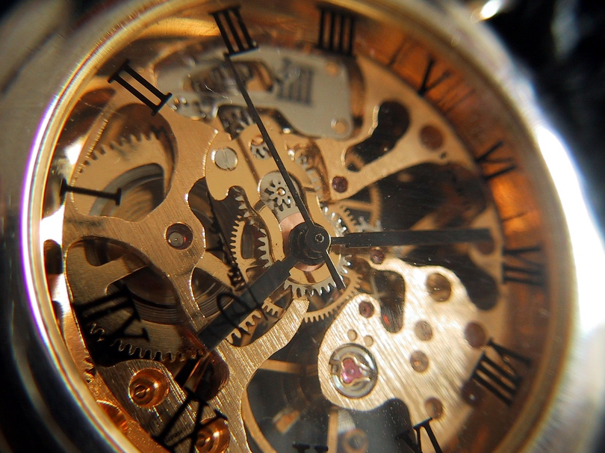 Uhr Glashütte Uhrwerk