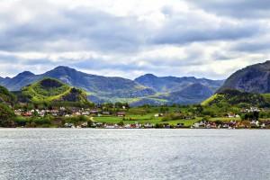 Einrichtungsstil Skandinavien Berglandschaft