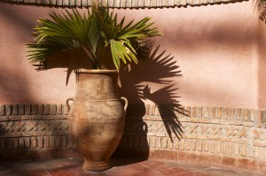 Einrichtungsstil Terracotta Vase