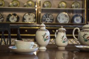 Einrichtungsstil englischer Tee Service