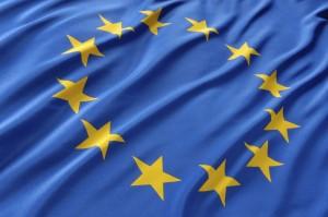 EU Organe Flagge EU Sterne