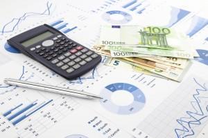 EU Organe Europäischer Rechnungshof Taschenrechner Euros