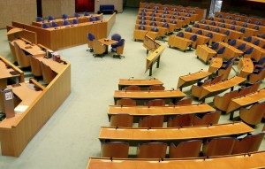 Rat der EU Sitzungsraum Tagung