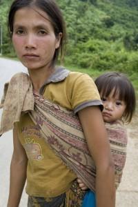 Flüchtlingspolitik Flüchtlinge Frau mit Kind