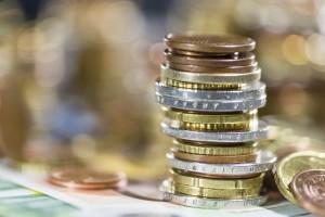 Europäischer Rechnungshof Geldstücke Euros