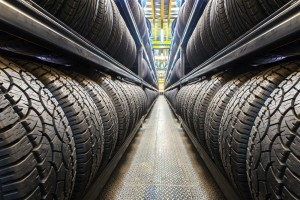EU Reifenlabel Reifen Lagerhalle