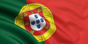 Vertrag von Lissabon Flagge Portugal