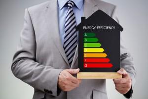 Energiemanagement-Industrie-Energieeffizienz-Geschäftsmann