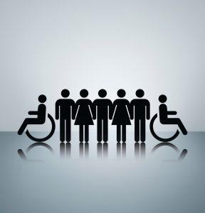 ESF Chancengleichheit Rollstuhl