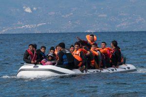 Frontex Flüchtlingsboot Seenotrettung