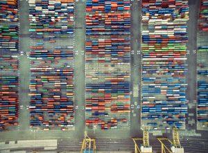 container-terminals-containerareal-reihen