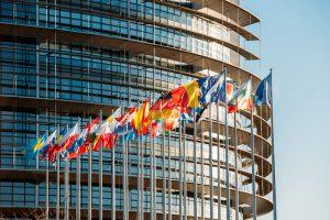 Vereinigte Staaten von Europa: Flaggen der Mitgliesländer