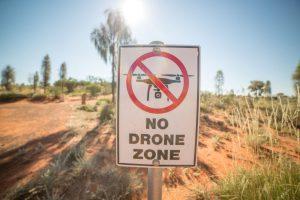 """Schild """"No Drone Zone"""""""
